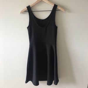 Divided Dresses - Black Skater Dress